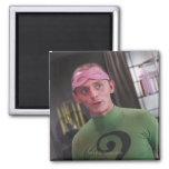 Riddler - Unmasked 2 2 Inch Square Magnet