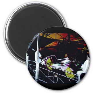 Ride 2 Inch Round Magnet