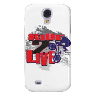 Ride 2 Live BMX Rider Samsung S4 Case
