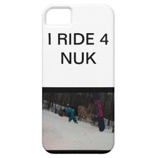 RIDE 4 NUK STEEZ iPhone 5/5S COVER