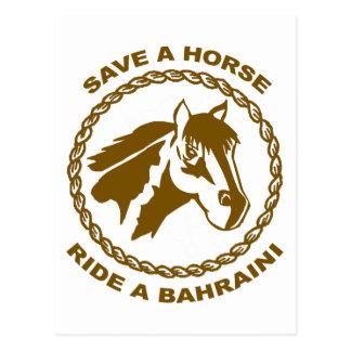 Ride A Bahraini Post Card