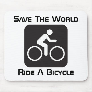 Ride A Bicycle Mousepad