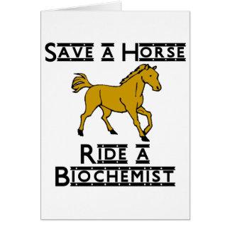 ride a biochemist card