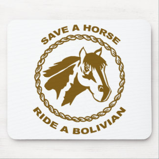 Ride A Bolivian Mouse Pad