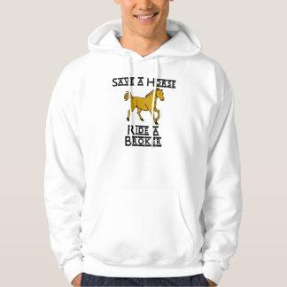 ride a broker hoodie