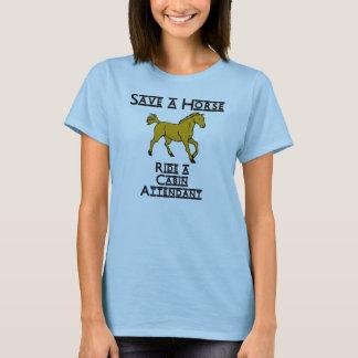ride a cabin attendant T-Shirt