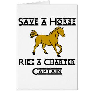 ride a charter captain card