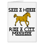 ride a city manager cards