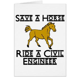 ride a civil engineer card
