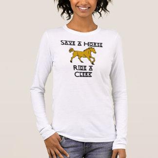 ride a clerk long sleeve T-Shirt