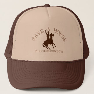 Ride A Cowboy! Trucker Hat