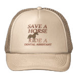 Ride a Dental Assistant Mesh Hat