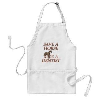 Ride a Dentist Adult Apron