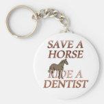 Ride a Dentist Keychain