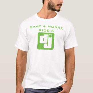 Ride a DJ t-shirt