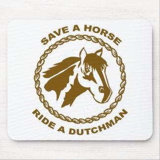 Ride A Dutchman Mouse Pad