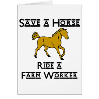 ride a farm worker card