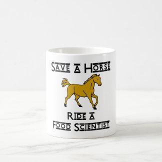 ride a food scientist coffee mug