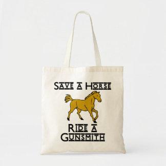 Ride a Gunsmith Tote Bag