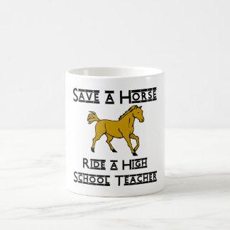 ride a high school teacher coffee mug