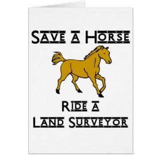 ride a land surveyor card
