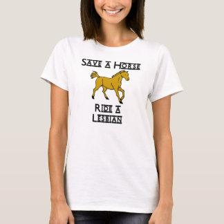ride a lesbian T-Shirt