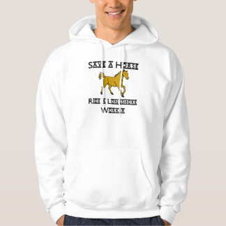 ride a longshore worker hooded sweatshirts