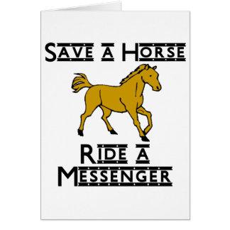 ride a messenger card