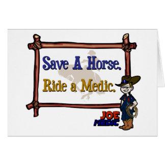 Ride A Paramedic Card