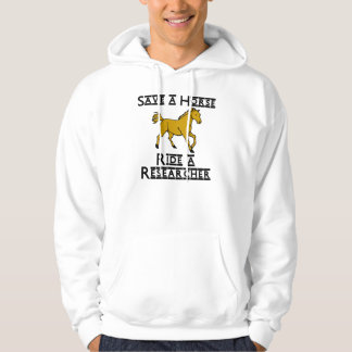 ride a researcher hoodie