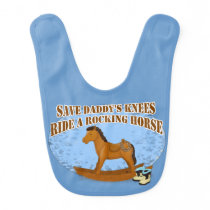 Ride a Rocking Horse Baby Bib