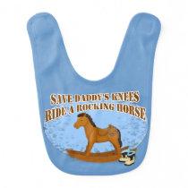 Ride a Rocking Horse Baby Bib