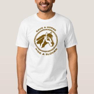 Ride A Slovak Tee Shirt