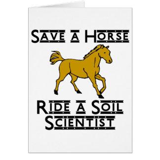 ride a soil scientist card