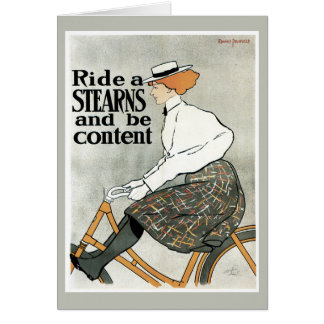 Ride a Stearns note card