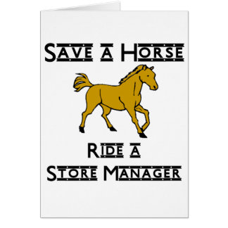 ride a store manager card