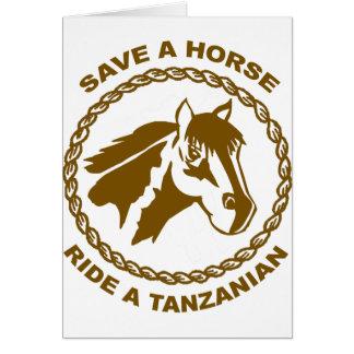 Ride A Tanzanian Card