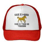 ride a tech ed teacher trucker hats
