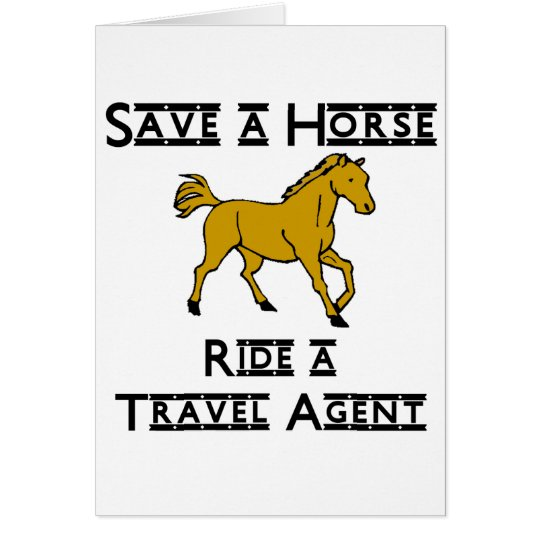 ride a travel agent card