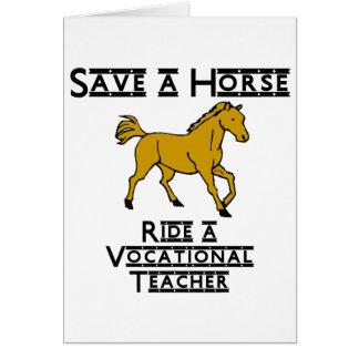 ride a vocational teacher card