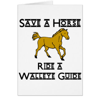 ride a walleye guide card