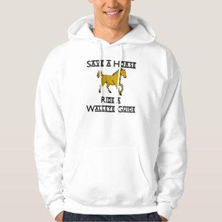 ride a walleye guide sweatshirt