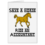 ride accountant stationery note card