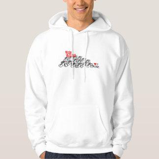 Ride addict hooded sweatshirt