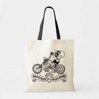 Ride Against the Machine Tote Bag