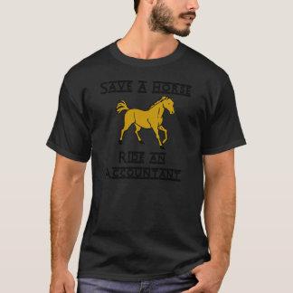 ride an accountant 12x12 T-Shirt