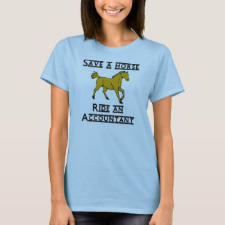 ride an accountant 12x12 T-Shirt