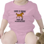 Ride an Accountant Baby Bodysuits