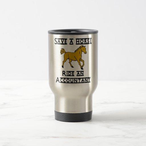 ride an accountant coffee mugs