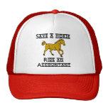 Ride an Accountant Hats